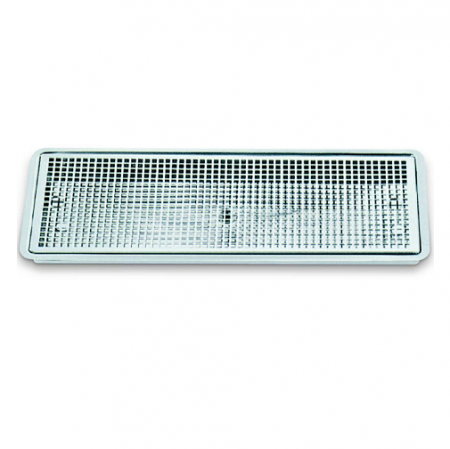 DripTray Recessed With Drain 300x180x30mm