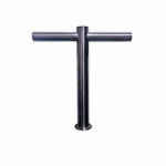 Tower T-Bar 4-Way Recirc Brushed Stainless Steel