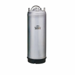 Mangrove Jack's Cleaning Can 19L Stainless Steel Ball Lock Single Handle