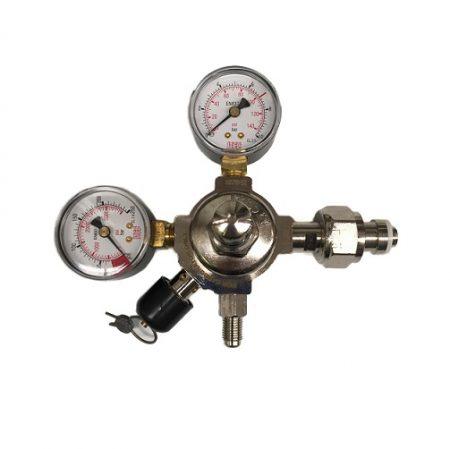 CO2 Regulator Celli 140PSI Right-Hand Bottle Mount