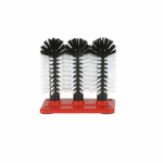 Delfin Glass Cleaning Brushes 3 X 25cm