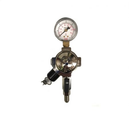 CO2 Regulator Celli 70PSI Secondary With Valve