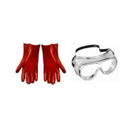 Safety Set Goggle & Gloves