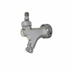 Universal Beer Tap Stainless Steel 10mm Bore – No Handle