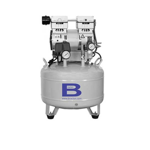 Air Compressor Quiet 1HP, 30L Tank, Autodrain