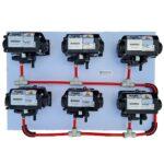 Syrup 6-Pump Kit On PVC Board
