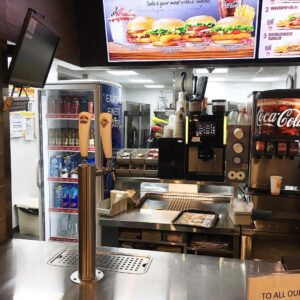 Mobile Bar Installed At Burger King, Fiji