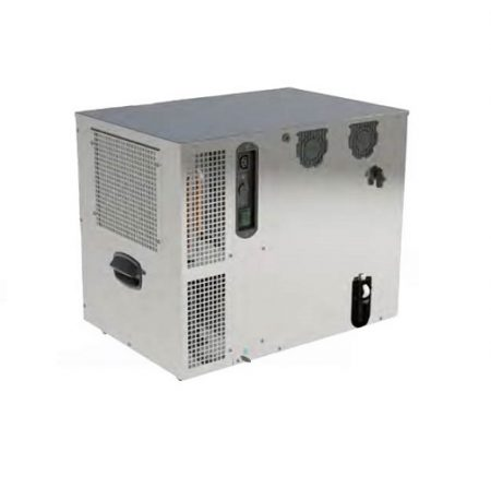 Chiller Beer Ice Bank 8kg GEO20H Stainless Steel 1/5 HP 2 Coils