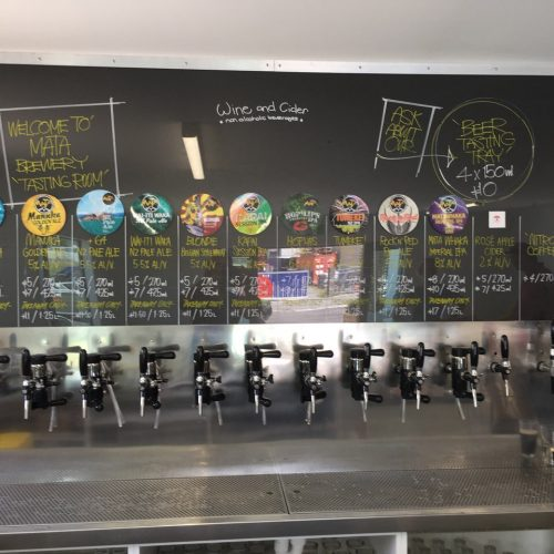 Pegas Evolution Taps And Celtic Tap For Nitro Coffee At Mata Brewery, Whakatane