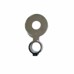 Decal Holder / 32mm ID / Chrome For 72mm Decal