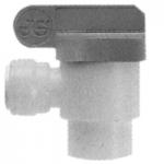 JG Imperial Polypropylene Shut Off Valves – Speedfit To Female NPTF Elbow Adaptor