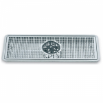 DripTray 300x180x30mm Recessed With Glass Rinser & Drain