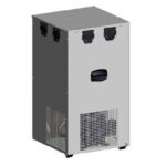Chiller Beer Ice Bank 22kg GEO50V Stainless Steel 5 Coils
