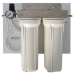 Water Filter Board Fully Assembled 10″ Double